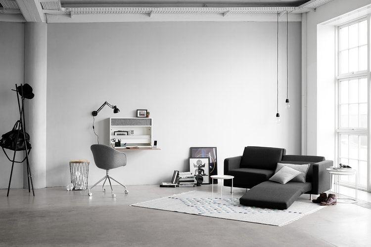 Un canapé lit moderne Salon Pinterest Lit moderne, Canapés