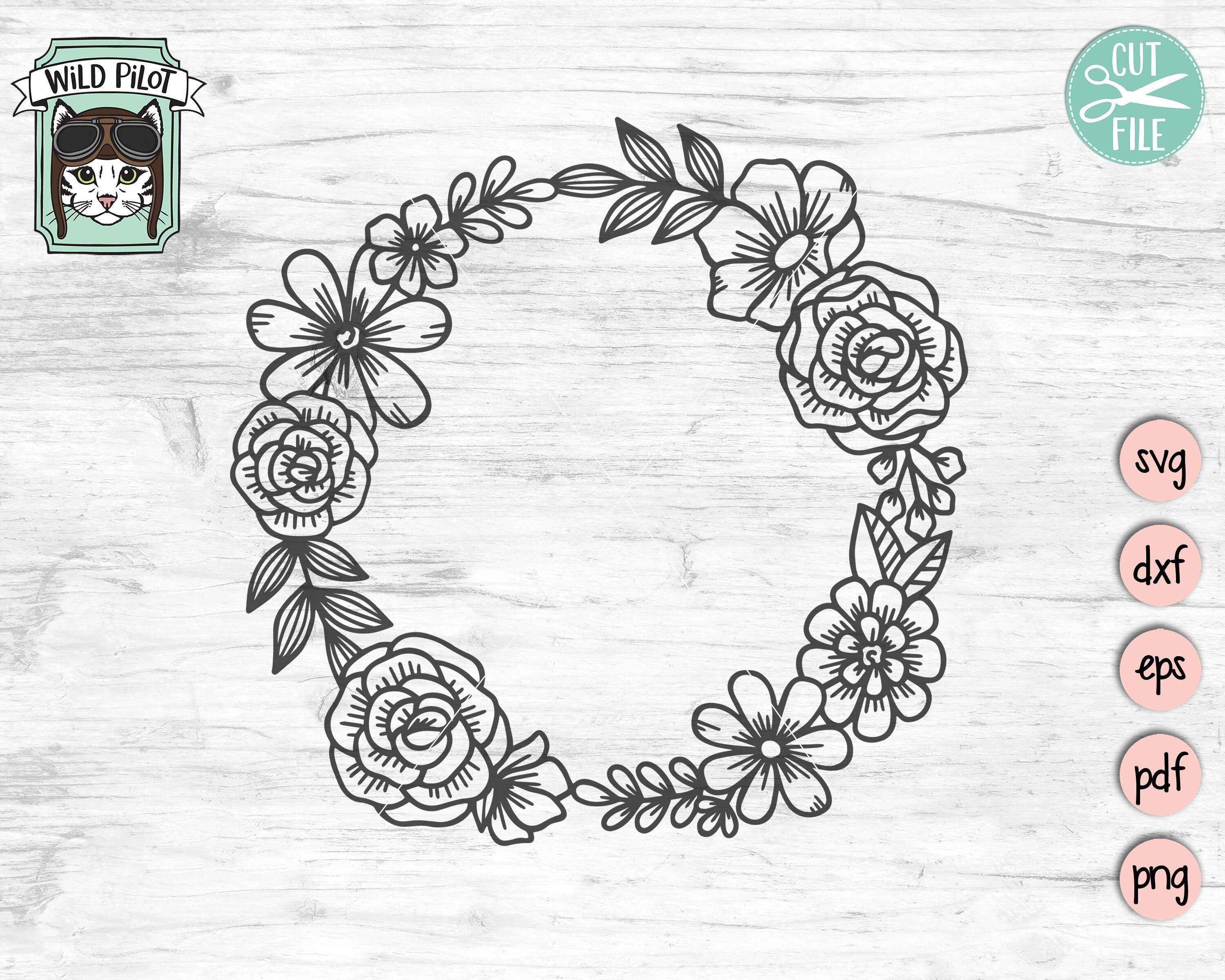 10+ Free svg floral wreath trends
