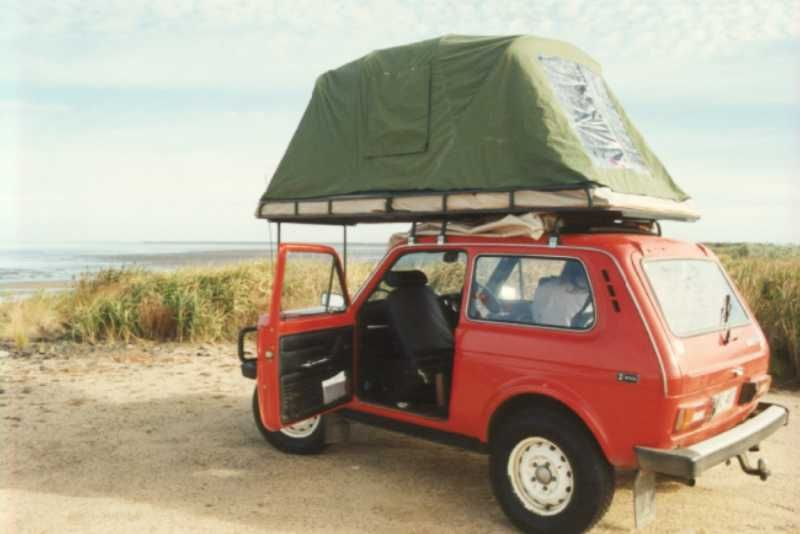 Ajlk Lada Niva Roof Tent Roof Tent Motorcycle Camping Gear Motorcycle Camping