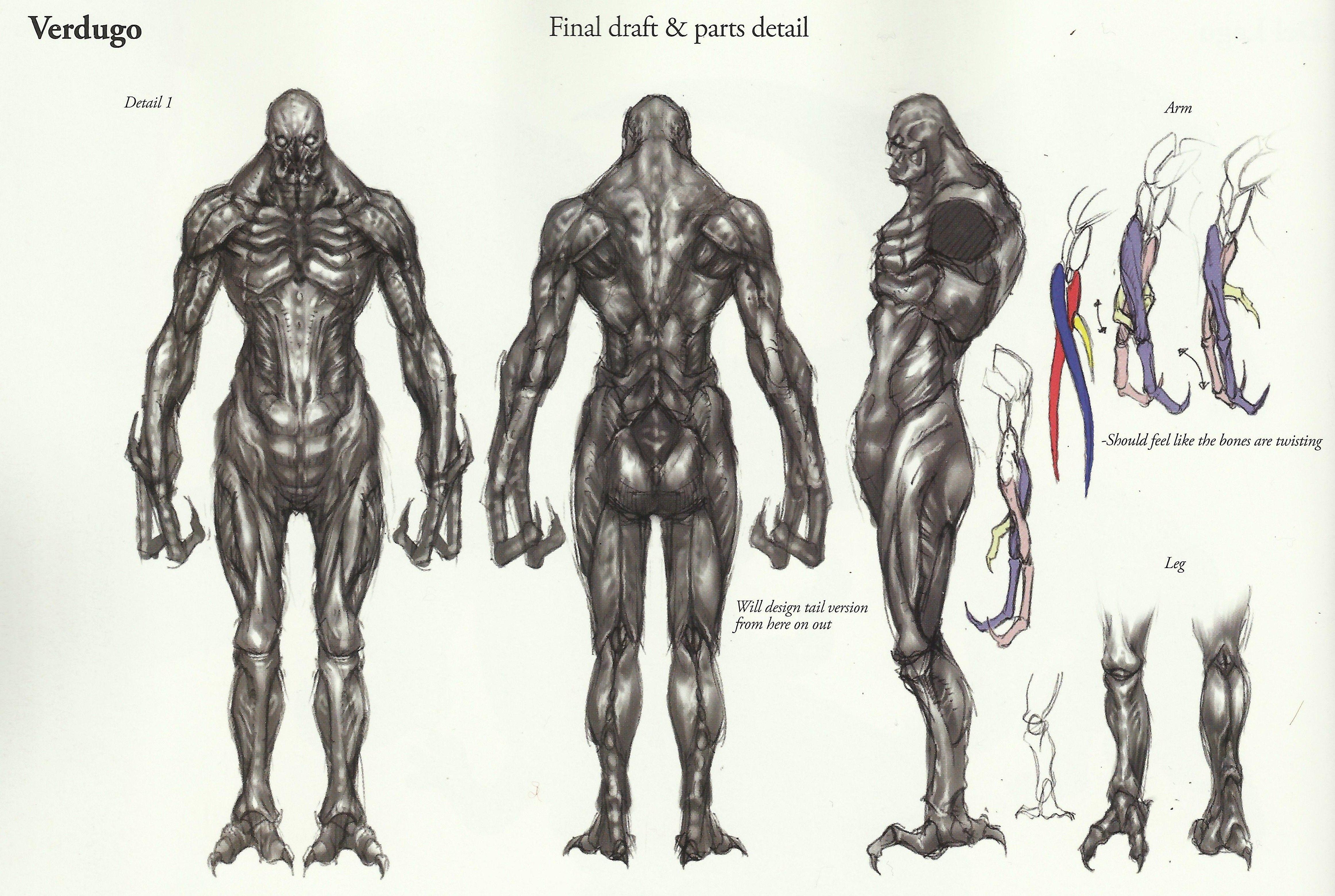 Verdugo Art Concept Re4 Ilustracao Desenhos Gado