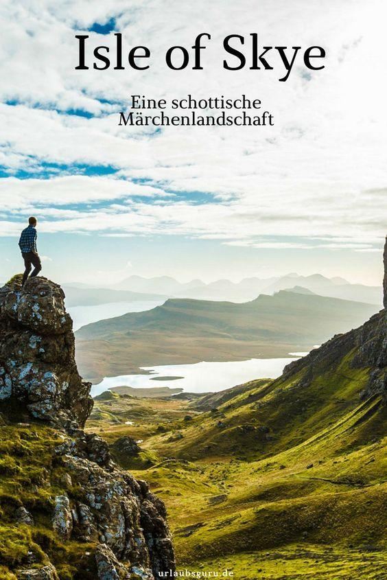 Isle of Skye - märchenhaftes Schottland #vacationdestinations