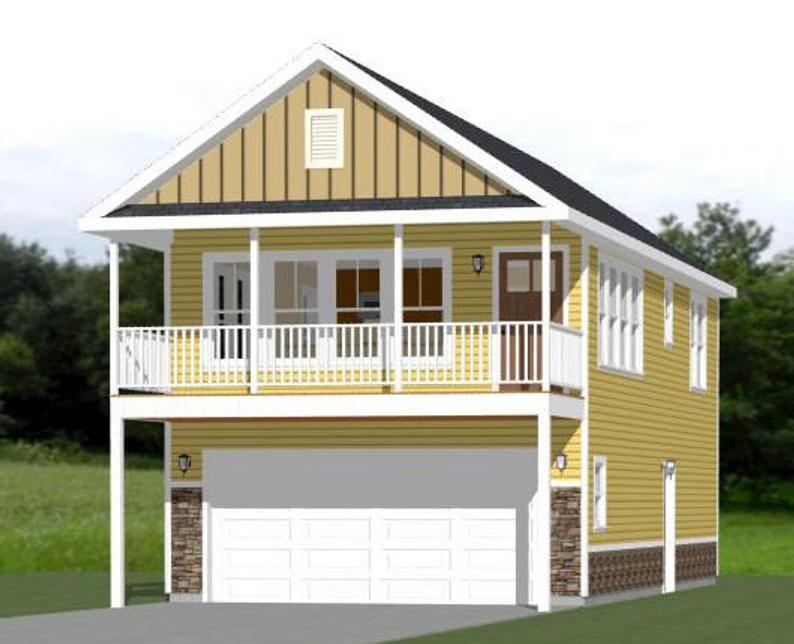 20x40 House 1 Bedroom 1 5 Bath 965 sq ft PDF Floor Plan Instant Download Model 6G