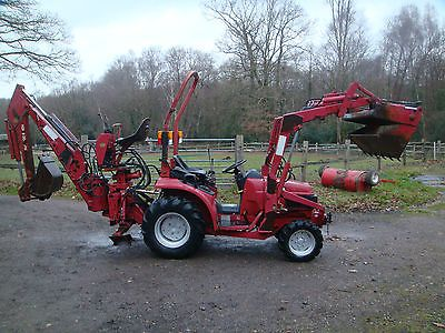 Honda compact #tractor #digger 6522 #diesel 4x4 rare,  View more on the LINK: 	http://www.zeppy.io/product/gb/2/182384379966/