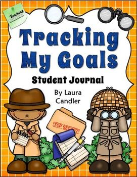 """This product is 50% off for the first 24 hours. It will return to the full price sometime after 4 pm EST on Sunday. Grab it while it's on sale!   Tracking My Goals is an 8.5"""" by 5.5"""" booklet students can use as a journal to record their goals and track their progress over time."""