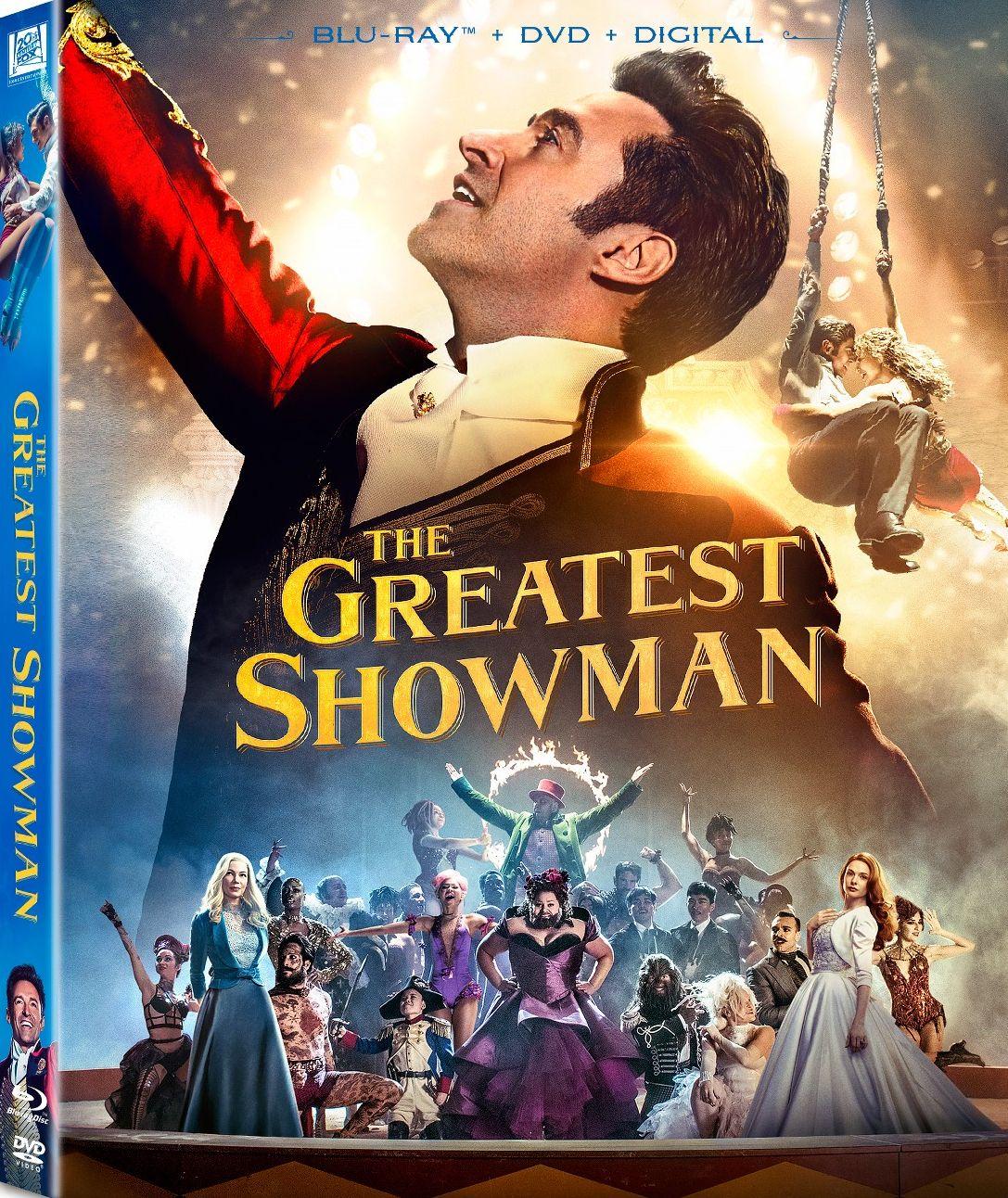 The Greatest Showman Blu Ray 20th Century Fox Showman Movie The Greatest Showman Greatful