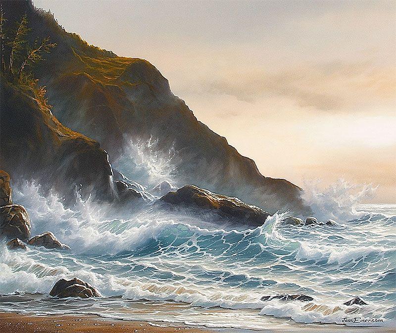 Seascape Artist Jonn Einerssen | Giclée Prints