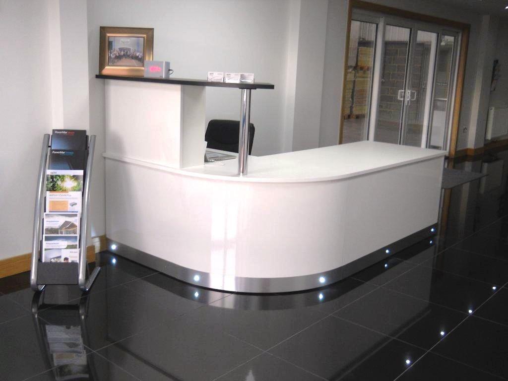 Home gt reception desks gt 8 curved maple glass top reception desk - Explore Curved Reception Desk Reception Desks And More