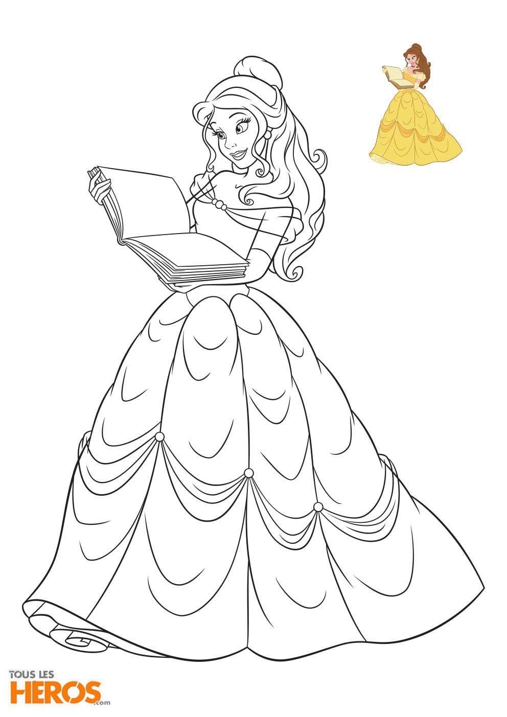 Cette Semaine Tous Les Heros Vous Propose D Imprimer 5 Nouveaux Coloriages Disney Princesses Coloriage Princesse Coloriage Princesse Disney Coloriage Disney