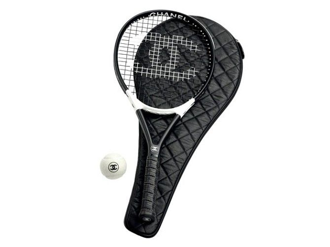 Tennis Racquet From The Chanel Sports Collection Tennis Racket Tennis Workout Accessories
