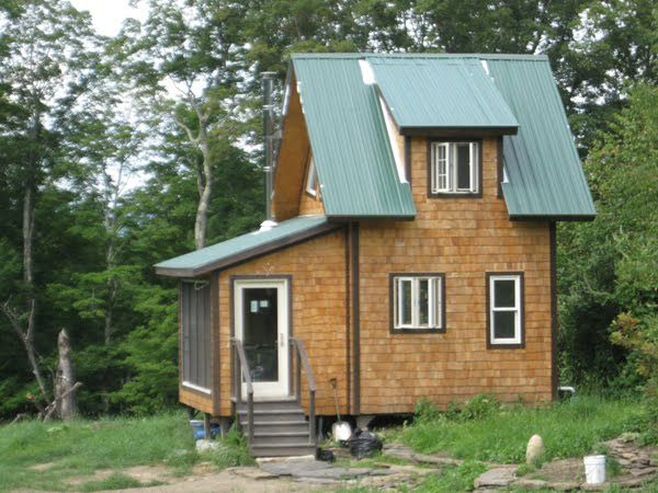 Headwaters Farm Tiny House Cabot VT Tiny houses Pinterest