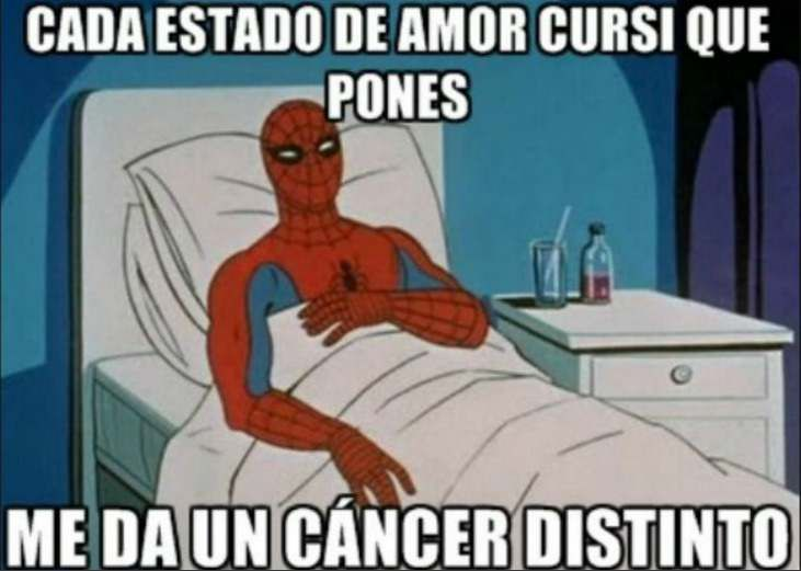 Del Amor Al Odio Ve Aqui Los Mejores Memes De San Valentin Spider Man Memes De San Valentin Memes
