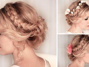 موقع ليالينا Prom Hair Medium Long Hair Styles Braided Hairstyles Updo