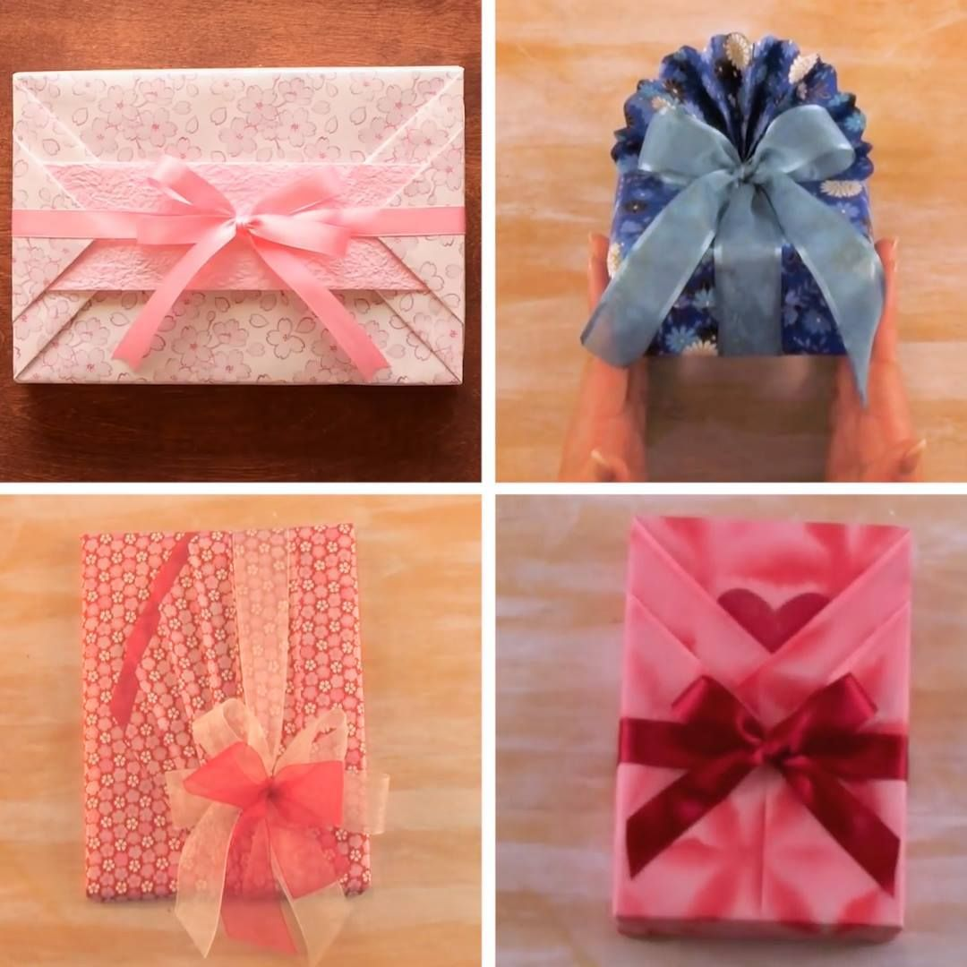 Japanese Gift Wrapping Is Beautiful Japanese Gift Wrapping Gift Wrapping Techniques Japanese Gifts