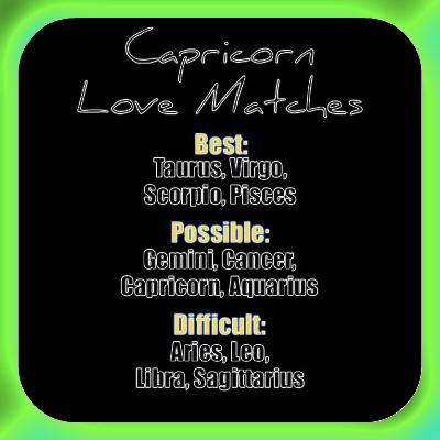 love horoscope for capricorn