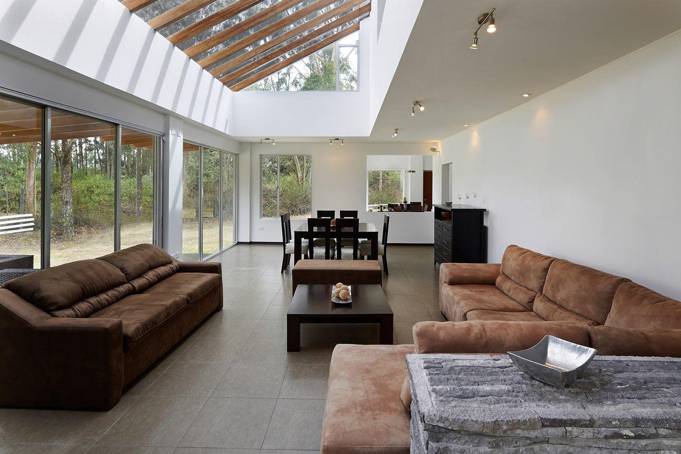 Aanbouw in houtskelet - balken nog zichtbaar - interiors | Pinterest ...