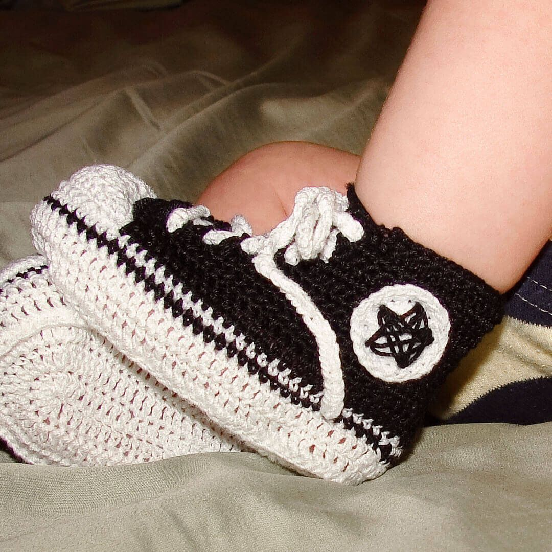 Converse Crochet Pattern Custom Decoration