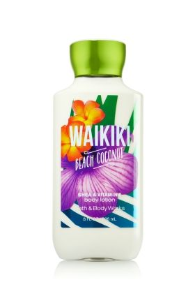 Waikiki Beach Coconut Body Lotion Bath Body Works
