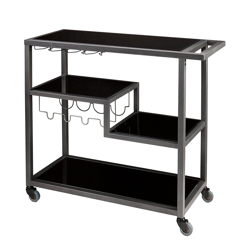 Amazon.com - Holly & Martin Zephs Bar Cart - Bar & Serving Carts ...