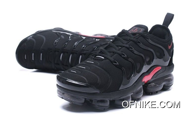 huge discount 6bdf2 09406 Nike Air VaporMax TN Black Red New Style in 2019 | Nike ...