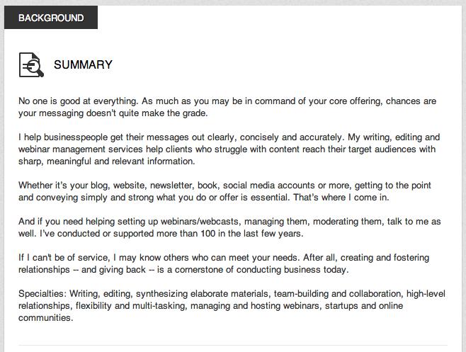 great examples of linkedin profile summaries road to success pinterest linkedin summary profile and sample resume