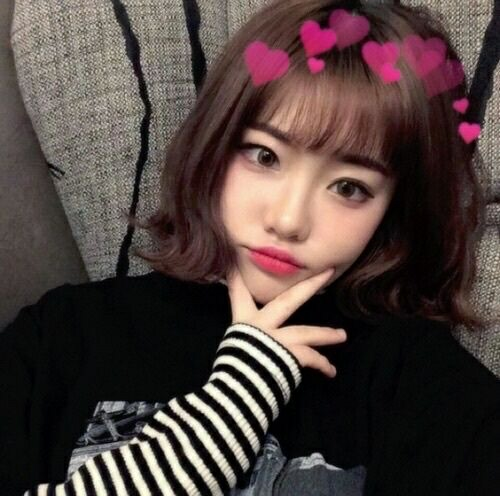 Asian Aesthetic (With images) | Ulzzang short hair, Cute korean girl, Ulzzang hair
