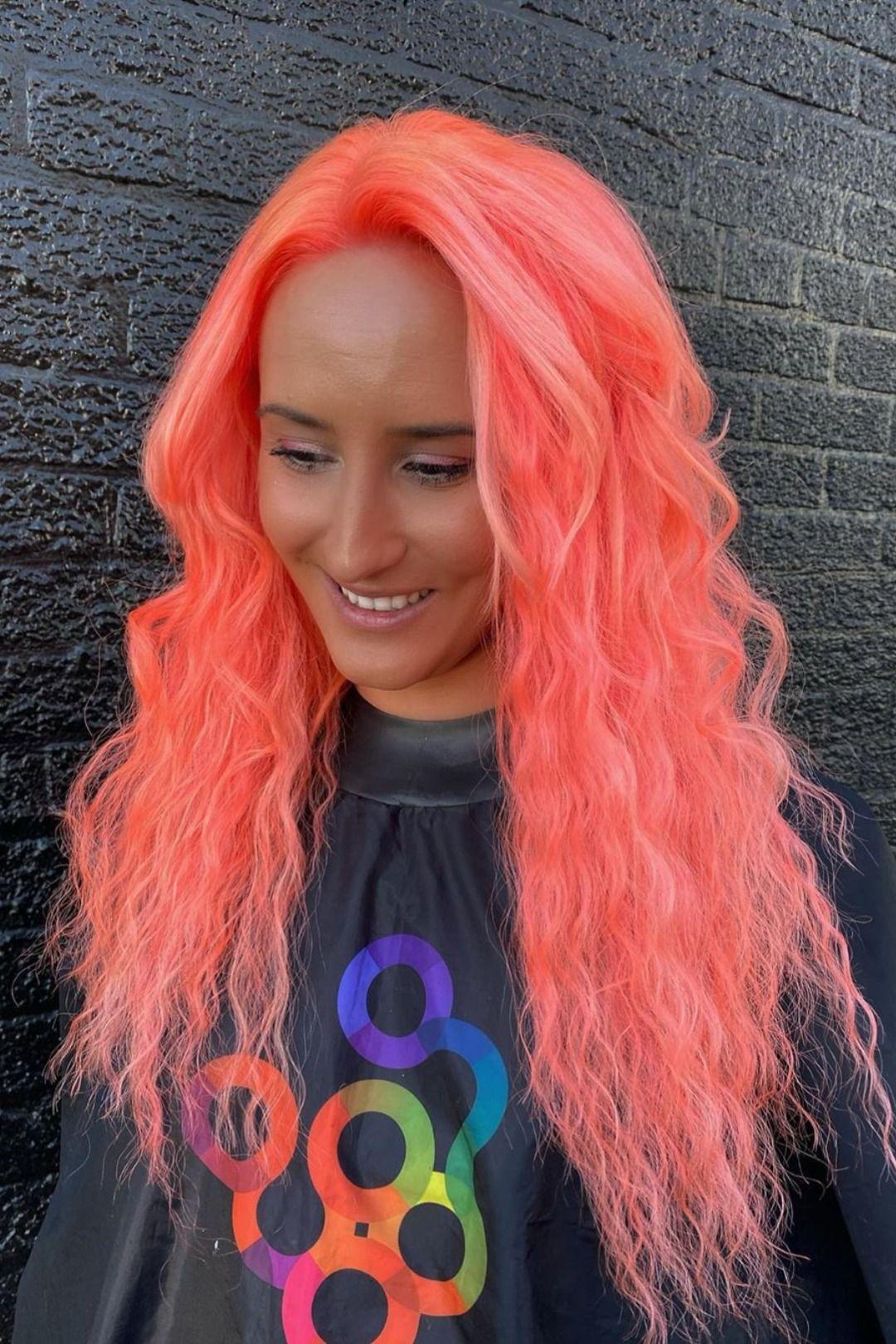 Arctic fox hair color lizzvargashair peaches idk about