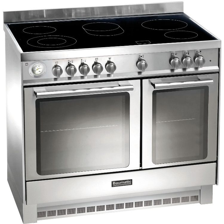 Buy Baumatic BCE925SS 90cm Electric Ceramic Range Cooker - Stainless Steel | Marks Electrical