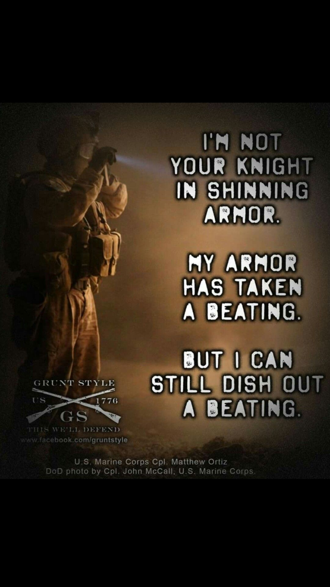 Marines Quotes Pinwbon My Code  Pinterest  Military Ptsd And Marine