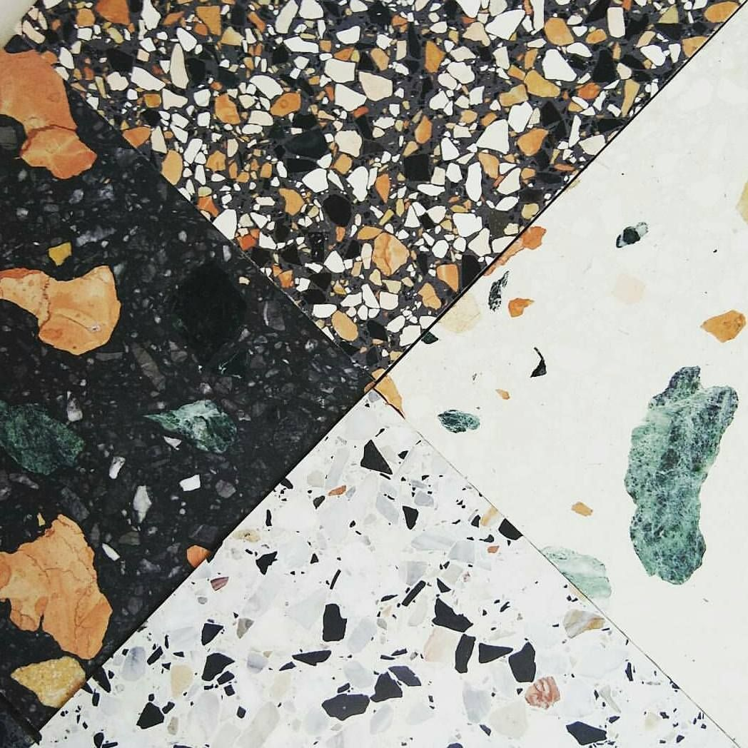 Terrazzo Comes In All Shapes And Sizes In 2019 Terrazzo