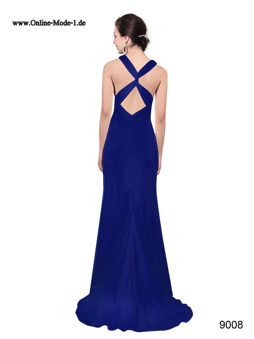 blaues Kleid | Blaues kleid, Kleider, Elegant