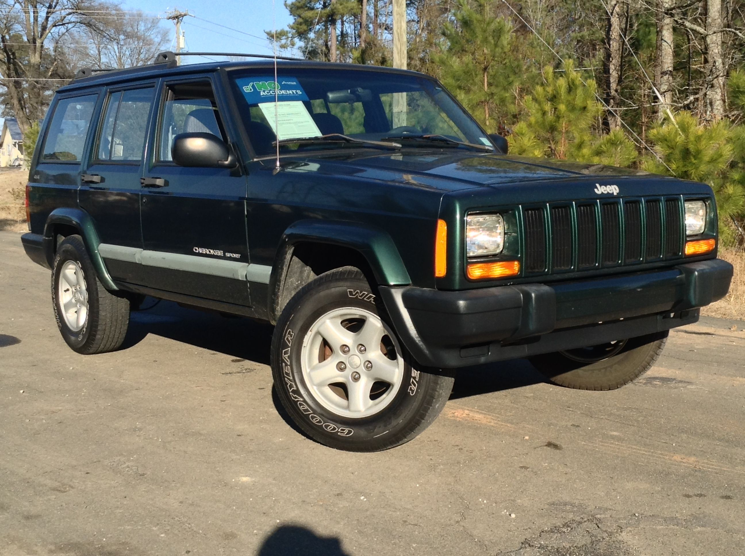 Used 1999 Jeep Cherokee For Sale Durham Nc 1999 Jeep Cherokee