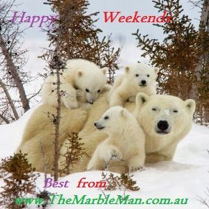 Best weekend greetings to all our customers and Pinterest friends.  Contact us to book urgent #marble/stone restoration works before Xmas - our team consists of neat & smart professionals. CALL 1800 627 626 or E-mail: shaun@themarbleman.com.au