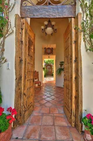 When you have SIX doggies you need to have these beautiful terra cotta tile floors!