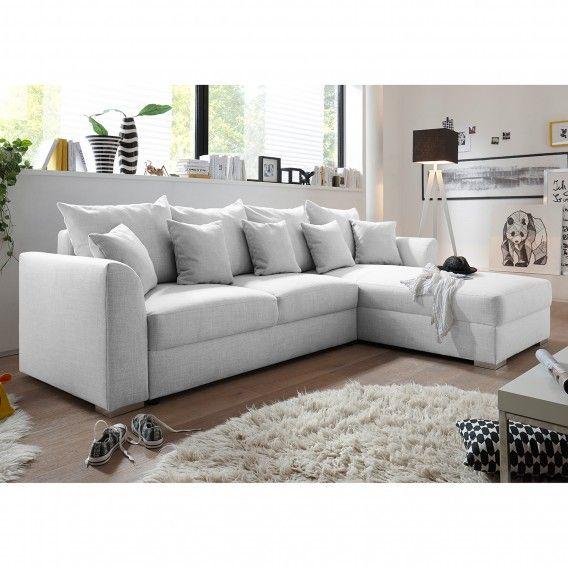 Canape D Angle Jessheim Convertible Meridienne A Monter A Gauche Ou A Droite Tissu In 2020 Thuis Hoekbank Sofa S