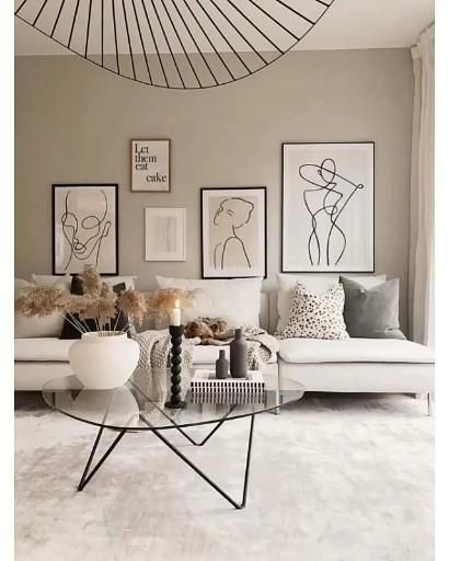 Красивая светлая гостиная минимализм интерьер Красивая стильная гостинная интерьер гостинной красивы