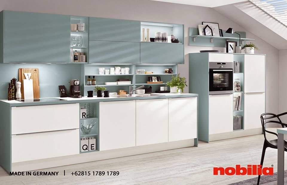 Nobilia Kitchen The Well Engineered Kitchen System The Variety Of Fine Materials And Material Combinations As Well As Top Notch Quality Kitchen Technology In