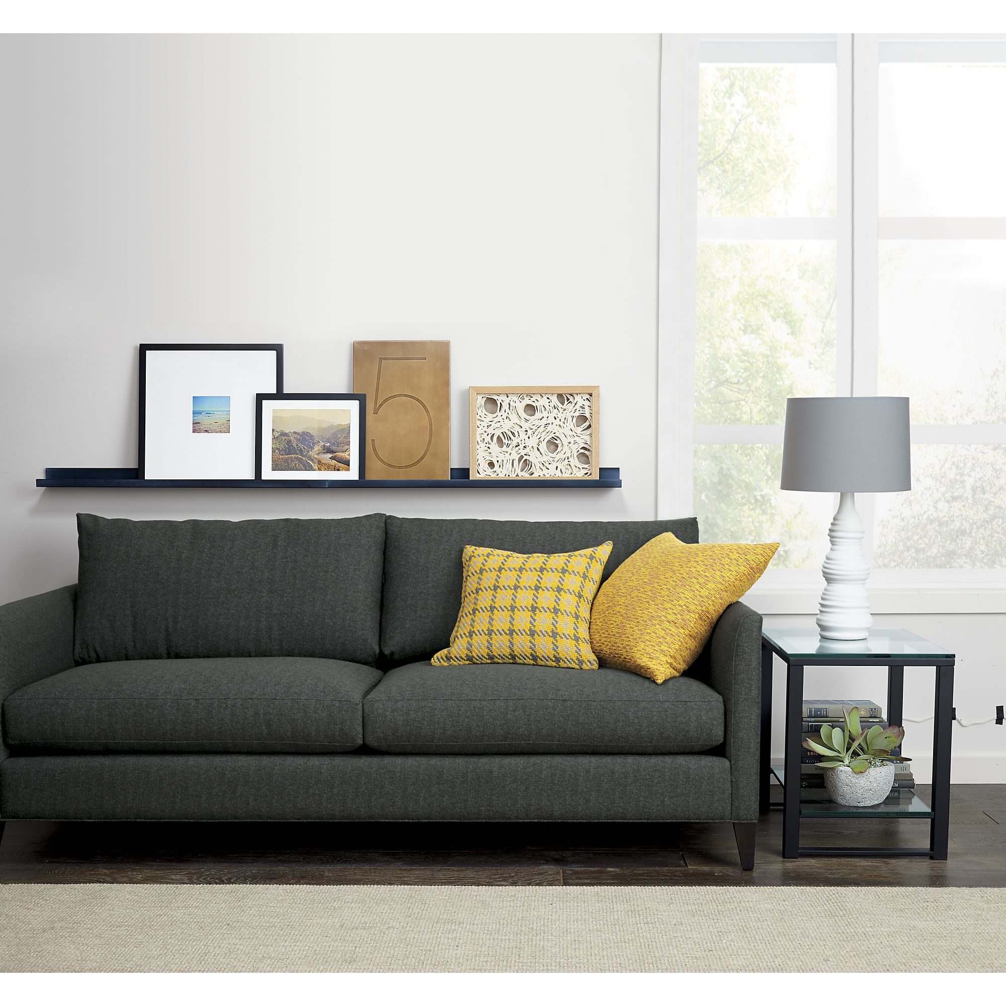 Klyne II Sofa in Sofas | Crate and Barrel | Living Room | Pinterest