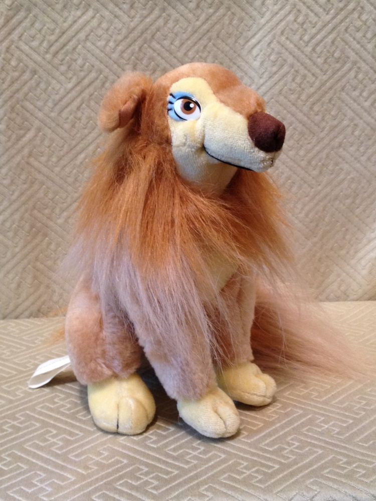 All Dogs Go To Heaven Plush Dog Flo 1989 Goldcrest Sullivan Euc