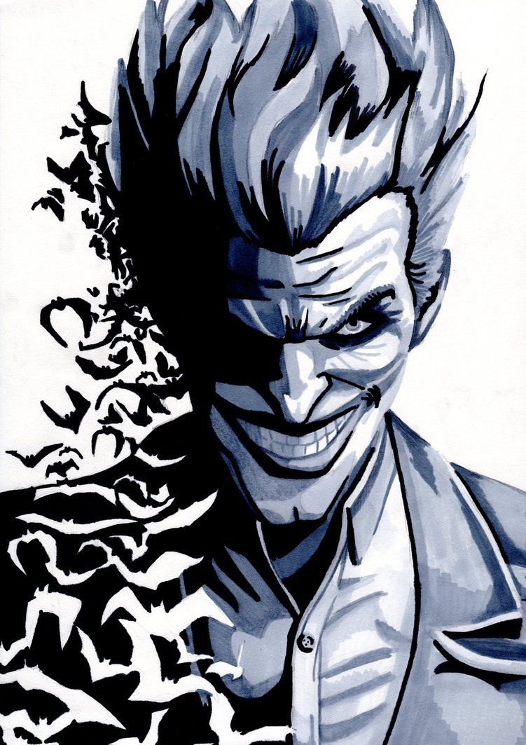 joker arkham origins drawing - Google Search | stuff for ...