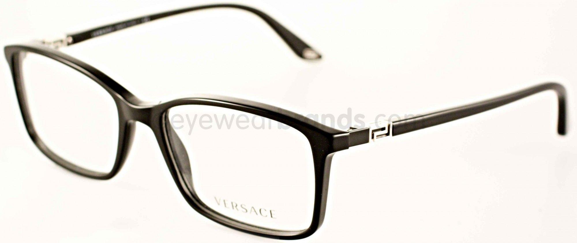 b5df033ebbba Versace VE 3163 - Versace VE3163 GB1 Black | Eyewears | Glasses ...