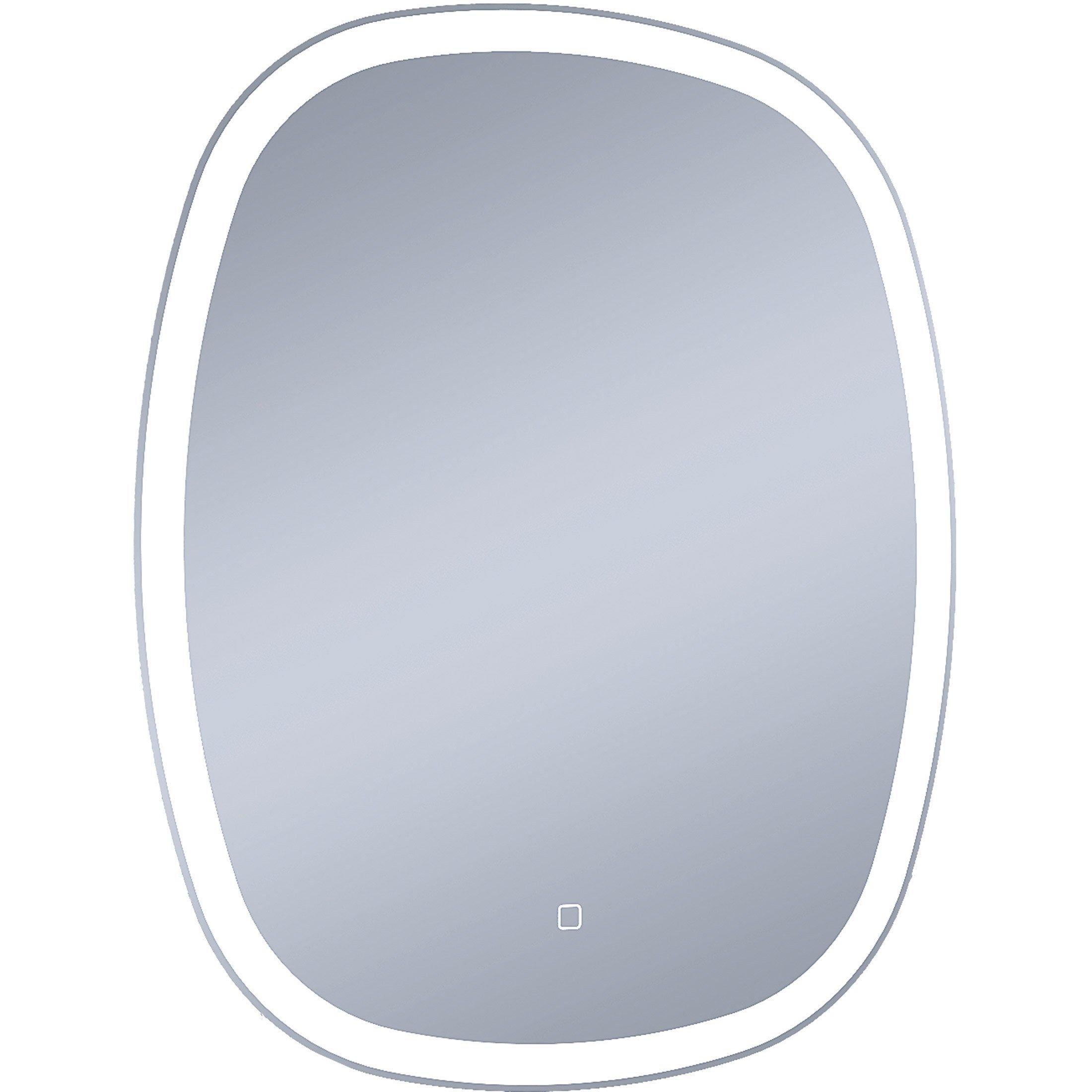 Miroir Lumineux Avec éclairage Intégré L65 X H80 Cm Carmen