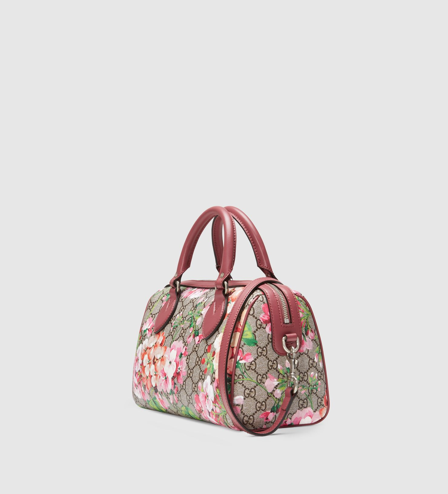 dd0cfaccd27a Blooms GG Supreme Top Handle Bag | bags | Bags, Gucci handbags ...
