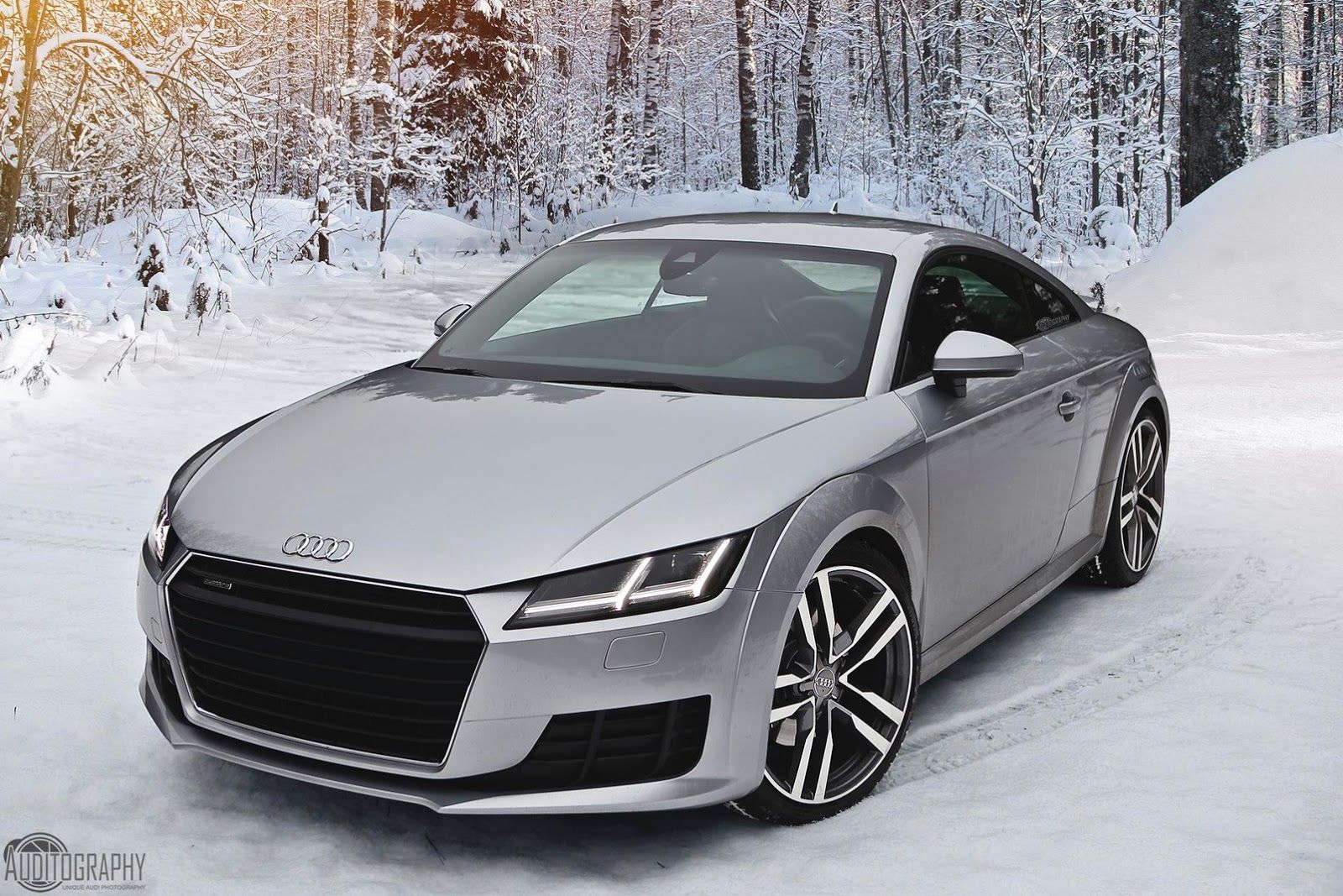2015 audi tt is the perfect snow angel | audi | pinterest | snow