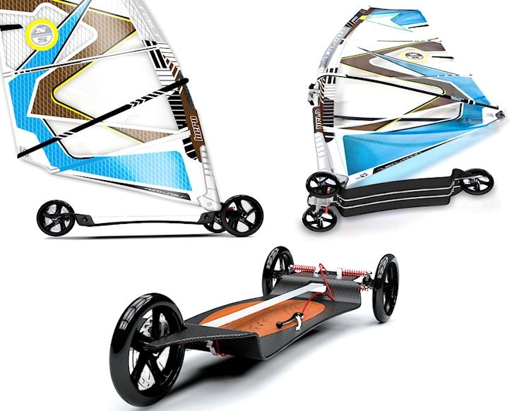 Deska Board: city windsurfing with brakes | Windsurfing