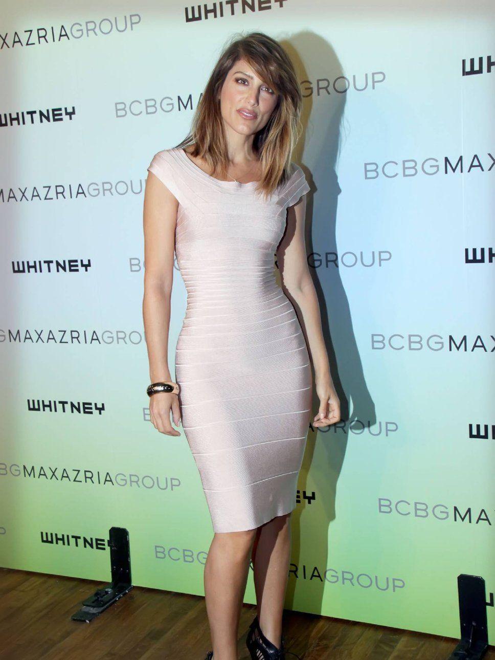 Jennifer Esposito nude bandage dress
