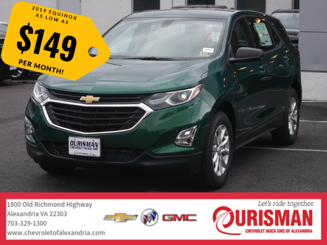 2019 Chevrolet Equinox For Sale In Alexandria 2gnaxhevxk6123647 Ourisman Chevrolet Buick Gmc Of Alexandria Chevrolet Equinox Buick Gmc Chevrolet