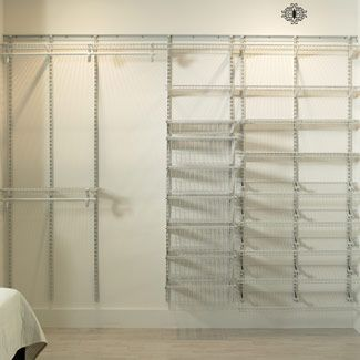 The Smartest Closet Organizer Ideas Wire Closet Shelving Closet Organizing Systems Wire Closet Organizers