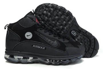 Mens All Black Nike Griffey Fury Shoes 92695