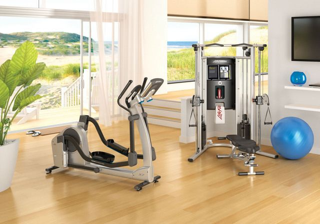 home gym design layout 10 cool home gym design ideas furnishism - Home Gym Design Ideas