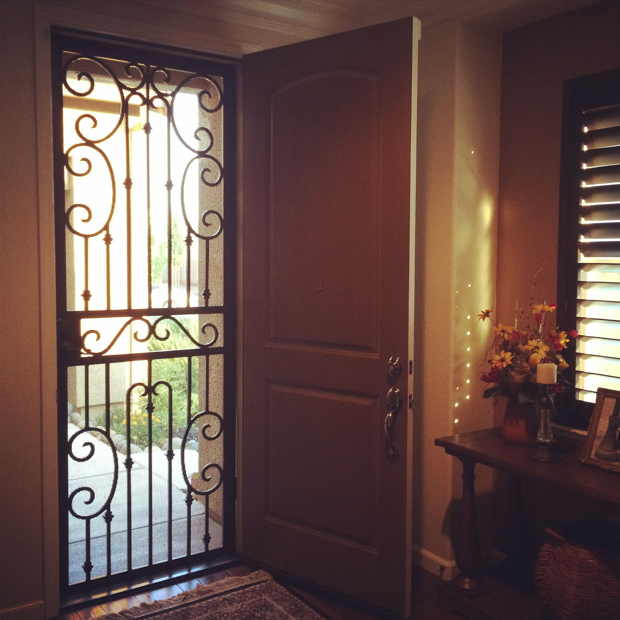 Security Screen Door -Spanish Style | Spanish decor ...